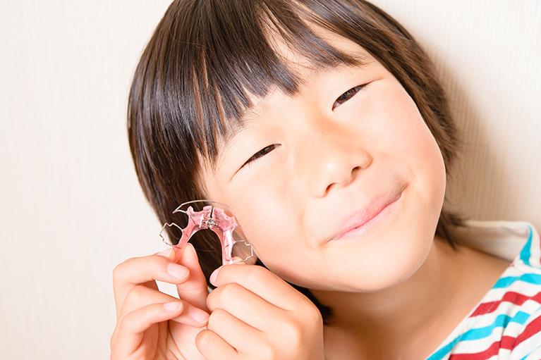 小児矯正の装置の種類